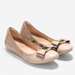 Cole Haan Tali Bow Ballet Flat Size 6.5